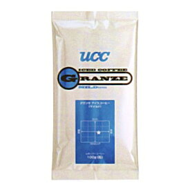 UCC上島珈琲 UCCグランゼマイルドアイスコーヒー(粉)AP100g 50袋入り コーヒー