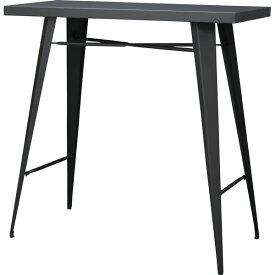 カウンターテーブル 幅105cm 高さ100cm スチール ハイテーブル カフェテーブル バーカウンター テーブル 作業台 つくえ 机 レトロ モダン 北欧 ブルックリン 西海岸 男前 インテリア おしゃれ アンティーク