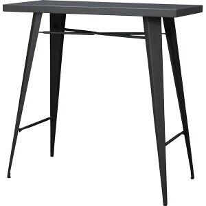 カウンターテーブル 幅105cm 高さ100cm スチール ハイテーブル カフェテーブル バーカウンター テーブル 作業台 つくえ 机 レトロ モダン 北欧 ブルックリン 西海岸 男前 インテリア おしゃれ