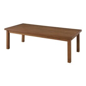 送料無料 こたつ テーブル 130×60cm 長方形 ヘリンボーン 2段階高さ調整 継脚 継ぎ脚 薄型 ヒーター コタツ こたつテーブル 炬燵 ローテーブル センターテーブル リビングテール カフェ 木製 コンパクト おしゃれ かわいい デザイン ブラウン