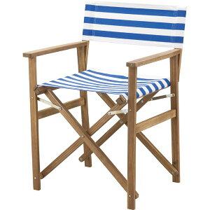 完成品 折りたたみディレクターチェア チェアー 天然木 アカシア 木製 フォールディングチェア ガーデンチェア おりたたみ いす イス 椅子 アウトドア キャンプ ガーデンファニチャー カフ
