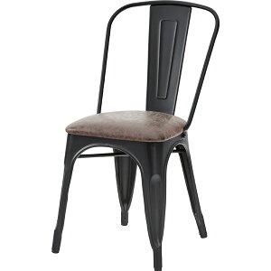 ダイニングチェア 食卓チェアー スチール レザー 食卓椅子 いす イス 椅子 ダイニングチェアー レトロ モダン 北欧 ブルックリン 西海岸 男前 インテリア おしゃれ シンプル アンティーク カ