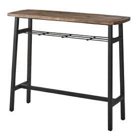 完成品 カウンターテーブル 幅120cm 高さ101cm アイアン ハイテーブル カフェテーブル バーカウンター テーブル 作業台 つくえ 机 レトロ モダン 北欧 ブルックリン 西海岸 男前 インテリア おしゃれ アンティーク