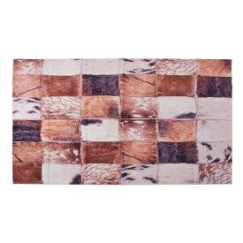 ラグマット 160x230cm ラグ マット カーペット じゅうたん 絨毯 センターラグ リビングラグ デザイン ハラコパッチワーク シンプル おしゃれ 北欧 高級感