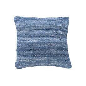 クッション 45×45cm 座布団 ザブトン 背当て 腰当て 正方形 フロアクッション かわいい おしゃれ ブルー