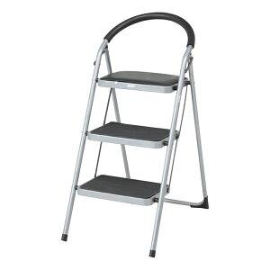 送料無料 2個入り ステップチェアー 3段 いす 椅子 イス 脚立 折りたたみ 折り畳み はしご 踏み台 ステップ 梯子 コンパクト 省スペース スチール お掃除 洗車 シンプル おしゃれ