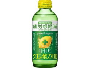 ポッカサッポロ キレートレモンクエン酸 瓶 155ml x6 *