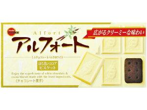 ブルボン アルフォートミニチョコレートバニラホワイト 12個 x10 *