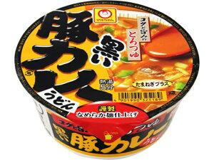 マルちゃん 黒い豚カレーうどん カップ 87g x12 *
