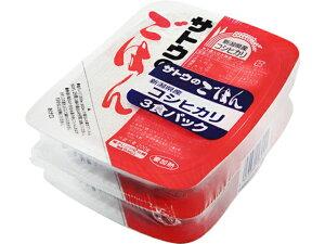 サトウ サトウのごはん 新潟県産コシヒカリ 3食パック 200gX3 x12 *