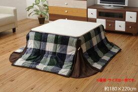 洗える 省スペースこたつ薄掛け布団単品 『ジャーナル省S』 180×220cm