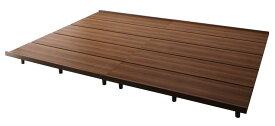 ローベッド フロアベッド ベッドフレームのみ ワイドK240(シングルサイズ+ダブルサイズ) レギュラー丈 ファミリーベッド ライラオールソン 木製ベッド 家族 連結ベッド (送料無料) 500021976