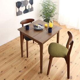 ダイニングセット 3点セット(テーブル W68 ブラウン +チェア2脚) 1Kでも置ける横幅68cmコンパクトダイニングセット idea イデア 木製 食卓 角型 アイボリー ブラウン ライトグレー ブルー レッド (送料無料) 500029627