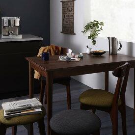 ダイニングセット 3点セット(テーブル ブラウン W115+チェア2脚) カフェ ヴィンテージ ダイニング Mumford マムフォード 木製 食卓 2人掛け ダークグレー グリーン (送料無料) 500029660
