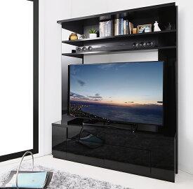 鏡面仕上げ 大型テレビ対応ハイタイプコーナーテレビボード Prelumo プレルモ (送料無料) 500042371