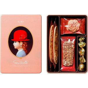 【まとめ買い10セット】エレガント 赤い帽子 クッキー クランチ チョコ アーモンド 洋菓子 お菓子 贈り物 ギフト プレゼント 贈答品 返礼品 お返し お祝い 返礼品 結婚祝い 出産祝い バレン