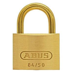【ケース特価5個セット】真鍮南京錠 84MBシリーズ ブリスターパック 50mm BP-84MB/50