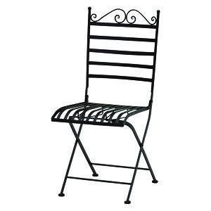 送料無料 ガーデンチェア 折りたたみ 2脚セット チェア ガーデン チェアー イス 椅子 ガーデンチェアー 折りたたみチェア 折り畳み アイアン スチール おしゃれ シンプル アンティーク エレ