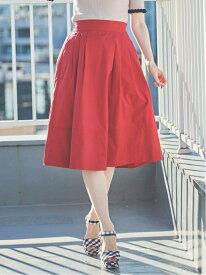 【SALE/40%OFF】タイプライターカラースカート 31 Sons de mode トランテアン ソン ドゥ モード スカート フレアスカート レッド ベージュ パープル【RBA_E】【送料無料】[Rakuten Fashion]