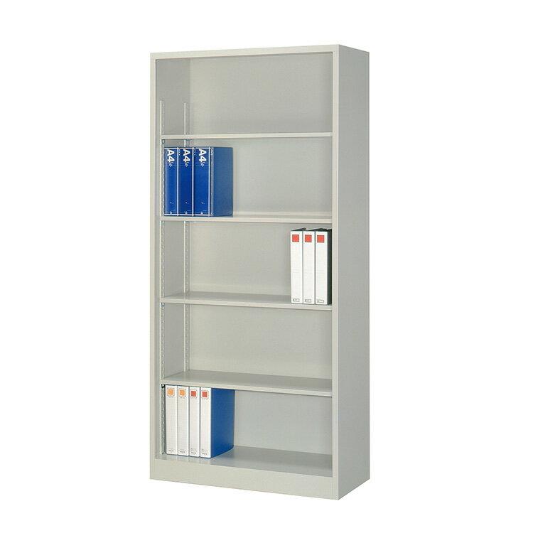 国産 オープン書庫 A4対応 FO40-G19 完成品 新品 ニューグレー アルプススチール W880×D400×H1860 TRUSCO