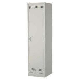 掃除用具ケース 片開き 錠無し NSP ニューグレー 完成品 新品 ALPS W455×D515×H1790