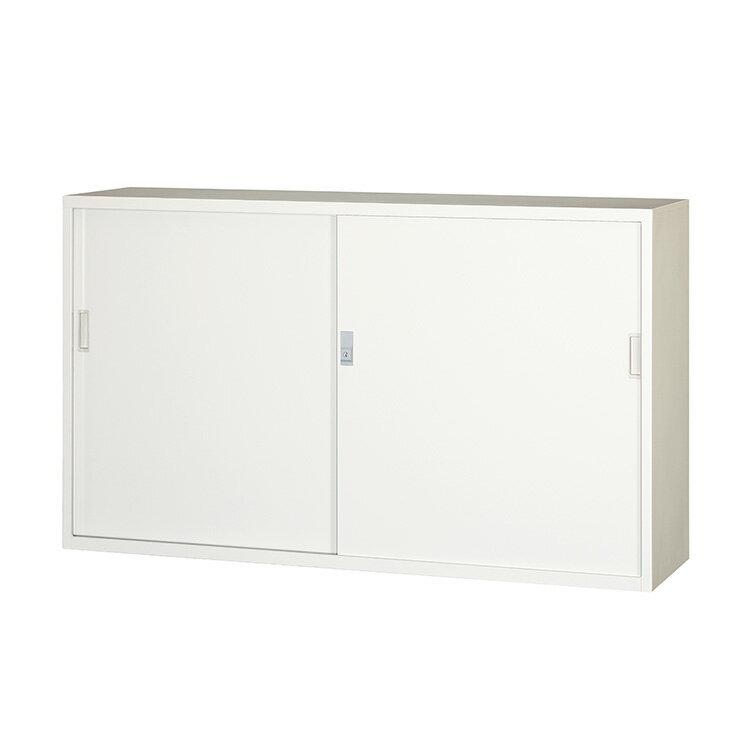 引違スチール戸 書庫 305D-AW 完成品 鍵付 新品 アルプスホワイト アルプススチール W1500×D400×H880 TRUSCO