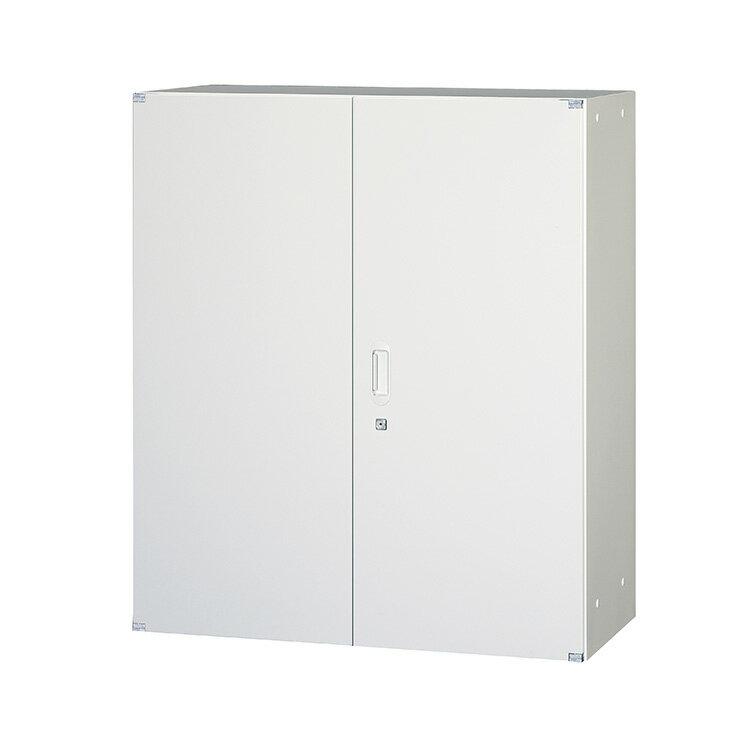 両開戸 スチール 書庫 FH40-G11 完成品 鍵付 新品 アルプスホワイト アルプススチール W900×D450×H1050 TRUSCO
