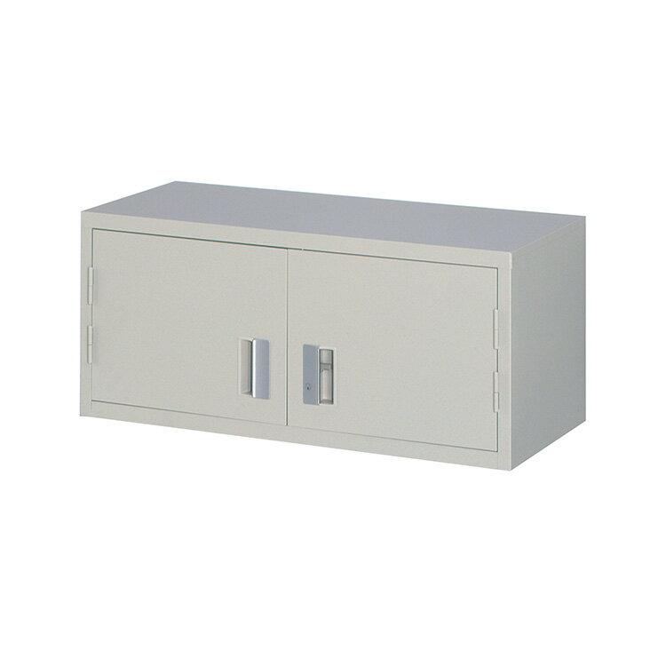 スチール戸両開き書庫 FH40-G4 完成品 鍵付 新品 ニューグレー アルプススチール W880×D400×H390 TRUSCO A4ファイル対応 上置専用
