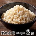 美食玄米 900g×2本 ミツハシライス | 送料無料 玄米 げんまい 玄米ご飯 白米 無洗米 米 夏バテ対策 こめ お米 ごはん ご飯 美味しい …