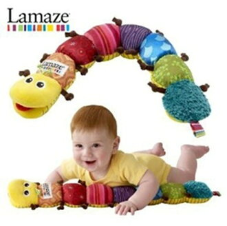 !Stuffed animal baby toy musical instrument of the Lamaze big hairy caterpillar placarders doll, stuffed toy
