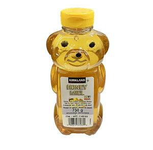 カナダ産ハニーベアー(蜂蜜)大容量750g入1本 カークランドシグニチュア コストコ