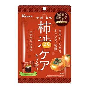 カンロ 柿渋ケアキャンディ 26g 10コ入り 2021/07/05発売 (4901351015872)