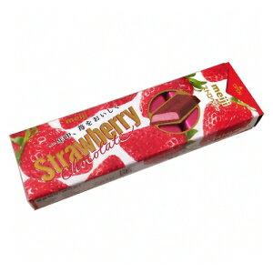 (全国送料無料) 明治 ストロベリーチョコレートスティックパック 10枚×10コ さんきゅーマーチ メール便 (4902777074511m)