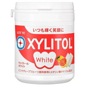 ロッテ キシリトールホワイト<ピンクグレープフルーツ>ファミリーボトル 143g 6コ入り 2020/10/13発売 (4903333282630)