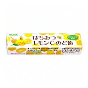カンロ はちみつレモンCのど飴 スティックタイプ 11粒 10コ入り (49600551)