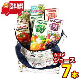 (地域限定送料無料) プレゼントにも!!ディズニー保冷バッグに入ったカゴメジュースセット(7本入り)さんきゅーマーチ (omtma7476k)