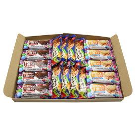 (全国送料無料) グリコ バランスオンminiケーキ(2種・各10コ)& 毎日果実〈フルーツたっぷりのケーキバー〉(8コ)セット メール便 (omtmb0752)