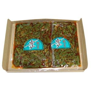 (全国送料無料) さんきゅーマーチ 森田製菓 献菜山クラゲ(ラー油) 300g 2コセット メール便 (omtmb5368)