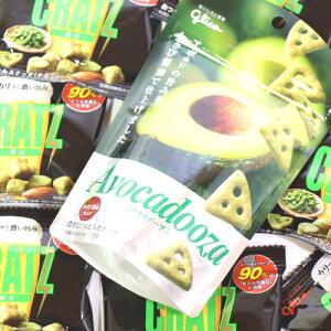 (全国送料無料) グリコ おつまみスナック クラッツミニ枝豆8個&アボカドーザ1個 セット さんきゅーマーチ メール便 (omtmb6359)