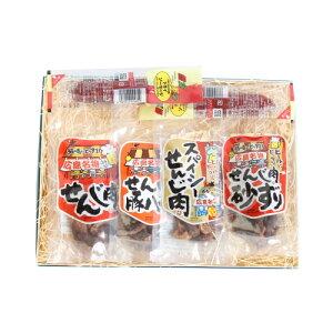 (全国送料無料)広島名物せんじ肉ギフトセットA さんきゅーマーチ プチギフト メール便(omtmb6972g)