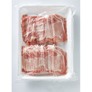 (地域限定送料無料)業務用 (単品) お店のための 豚ローススライス 2mm 1kg 3袋(計3袋)(冷凍)(295082000sx3k)