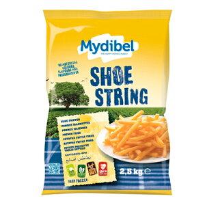 (地域限定送料無料) Mydibel シューストリングポテト 2.5kg(冷凍)×2 (779300528sx2k)