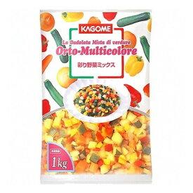 (地域限定送料無料) 業務用 カゴメ 彩り野菜ミックス 1kg 6コ入り(冷凍) (781881000ck)