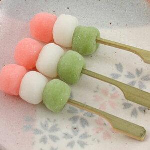 三色団子(ミニ)20本【串つき・だんご・3色・ミニサイズ・春】《冷凍》