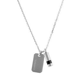 ディーゼル ネックレス ペンダント メンズ DIESEL ロゴプレート&ボルト ブレイブマン(モヒカン) DX1156040