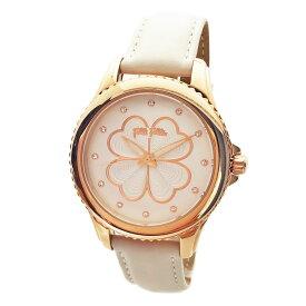 フォリフォリ 腕時計 レディース Folli Follie ハートフォーハート HEART 4 HEART ローズゴールド/アイボリーグレー WF15R031SSW-IV