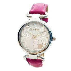 フォリフォリ 腕時計 レディース Folli Follie ハートフォーハートクラッシー HEART 4 HEART CLASSY シルバー/ピンク WF15T029SPW-FU