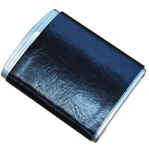 携帯灰皿 アッシュトレイ ハニカム革巻き ブラック MPA-2BK