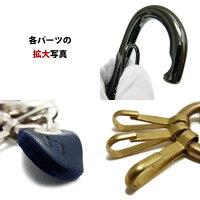 HawkCompanyホークカンパニー真鍮カラビナキーホルダー日本製本革メンズレディース[キーリング/プレゼント/ギフト/記念日/誕生日]02P12Oct15
