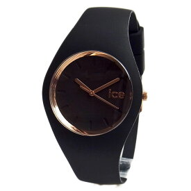 アイスウォッチ メンズ レディース 腕時計 ice watch ICE.GL.BRG.U.S.14 ICE glam アイスグラム ブラック/ローズゴールド